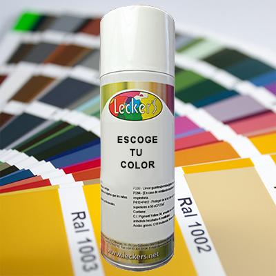 Sprays colores Ral